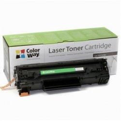 ColorWay Toner Cartridge, Black, HP CE278A (78A); Canon 728/726