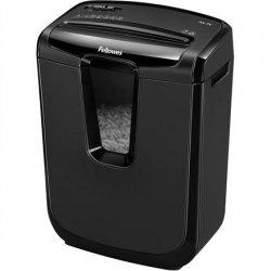 Fellowes Shredder M-8C Black, 15 L, Paper shredding, Credit cards shredding, Traditional, Paper handling standard/output Shreds