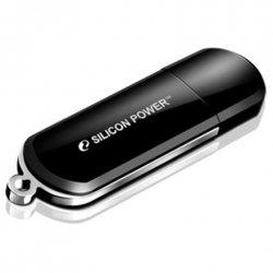 Silicon Power Luxmini 322 8 GB, USB 2.0, Black