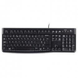Logitech K120 wired, USB, Keyboard layout EN/LT, USB Port, 1.5 m, Black, Lithuanian, 55 g