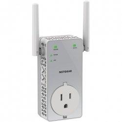 Netgear EX3800-100PES WiFi Range Extender AC750 with pass-thru Wi-Fi, 802.11a/b/g/n/ac, 2.4 and 5 GHz, 750 Mbit/s