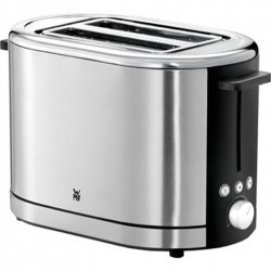 WMF Toaster Lono Stainless steel, Cromargan® 18/1 stainless steel, 900 W, Number of slots 2, Number of power levels 7, Bun warme