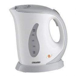 Mesko Kettle MS 1236r Standard, Plastic, White/grey, 760 W, 0.6 L