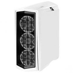 SilverStone SST-PM01W-RGB Side window, White, ATX, Power supply included No