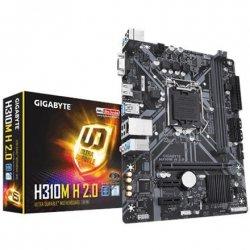 Gigabyte H310M H 2.0 Processor family Intel, Processor socket LGA1151, DDR4 DIMM, Memory slots 2, Chipset Intel H, Micro ATX