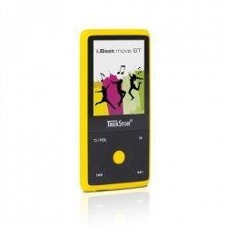 TrekStor MP3/MP4 player i.Beat move BT Internal memory 8 GB, Yellow, Bluetooth,