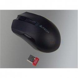 A4Tech Mouse G3-200N, V-Track padless, black, wireless, mouse