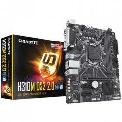Gigabyte H310M DS2 2.0 Processor family Intel, Processor socket LGA1151, DDR4 DIMM, Memory slots 2, Number of SATA connectors 4