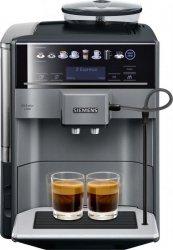 SIEMENS Coffee Machine TE651209RW Pump pressure 15 bar, Built-in milk frother, Fully automatic, 1500 W, Black/ stainless steel