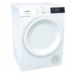 Gorenje Dryer machine DE71 Heat pump, Condensation, 7 kg, Energy efficiency class A+, White, LED, Depth 62.5 cm, Display,