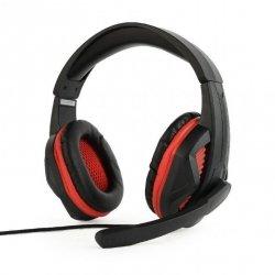 Gembird Gaming headset with volume control, matte black