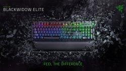 Razer BlackWidow Elite, Gaming, RGB LED light, RU, Black, Wired, Mechanical Gaming Keyboard,