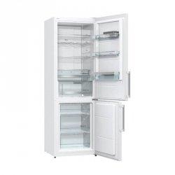 Gorenje Refrigerator NRK6192MW Free standing, Combi, Height 185 cm, A++, No Frost system, Fridge net capacity 222 L, Freezer net