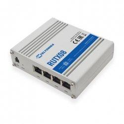 Teltonika Industrial Router RUTX08 No Wi-Fi, 10/100/1000 Mbit/s, Ethernet LAN (RJ-45) ports 4, 1