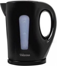 Tristar Kettle WK-3384 Standard, 2200 W, 1.7 L, Plastic, Black,