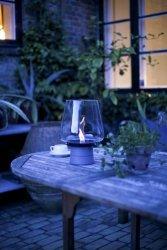 Tenderflame Table fireplace Amaryllis 3W MgO Diameter 25 cm, 33 cm, 300 ml, 3 hours, Transparent