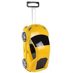Ridaz Lamborghini Huracan Kids Travel Luggage, Yellow