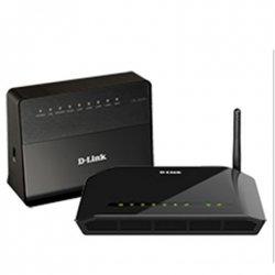 D-Link ADSL2+ Modem Router DSL-2640U/RA 802.11n, 150 Mbit/s, 10/100 Mbit/s, Ethernet LAN (RJ-45) ports 4, 1xADSL port for RJ-11