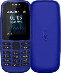 Nokia 105 (2019) TA-1174 Blue, 1.77 , TFT, 120 x 160 pixels, 4 MB, 4 MB, Dual SIM, USB version microUSB