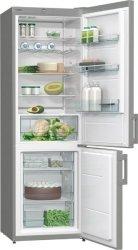 Gorenje Refrigerator RK6191AX Free standing, Combi, Height 185 cm, A+, Fridge net capacity 229 L, Freezer net capacity 97 L, 40