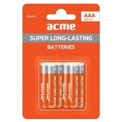 Acme LR03X6AAA Alkaline, 6 pc(s)
