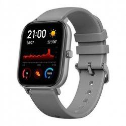 Amazfit Smart Watch GTS Lava Grey, 24/7, 220 mAh, Touchscreen, Bluetooth, Heart rate monitor, GPS (satellite), Waterproof