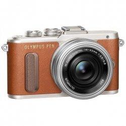 Olympus PEN E-PL8 + 14-42mm EZ Pancake Mirrorless Camera Kit, 16.1 MP, ISO 25600, Display diagonal 7.62 , Video recording, Wi-F