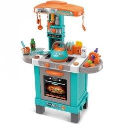 Kuchnia dla dzieci 32 elementy błękitna 64x29x87cm