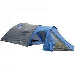 Namiot turystyczny 4 Osobowy Cool szaro-niebieski Royokamp