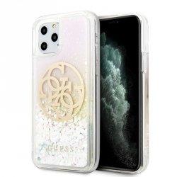 Guess Gradient Liquid Glitter Circle Logo - Etui iPhone 11 Pro Max