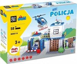 KLOCKI BLOCKI MUBI POLICJA POLICE 58 EL.