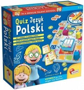Lisciani Mały Geniusz, Quiz - Jezyk Polski