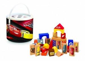 Klocki drewniane 50 elementów - Cars 3