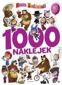 Egmont Masza i Niedźwiedź 1000 Naklejek