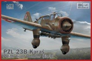 Ibg PZL. 23B Karaś Polish Light  Bomber (Early product)