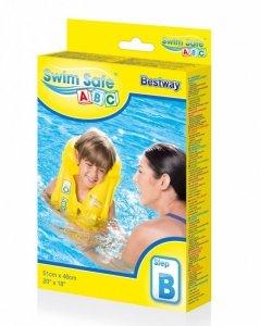 BESTWAY Kamizelka do nauki pływania żółta 51x46 cm