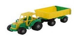WADER-POLESIE Pojazd Majster Traktor z przyczepą