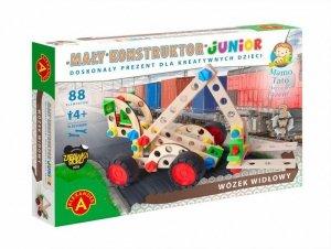 Zestaw konstrukcyjny Mały Konstruktor Junior 3w1 - Wózek widłowy