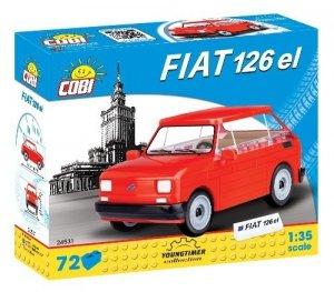 Cobi Klocki Klocki Youngtimer Collection Fiat 126p el