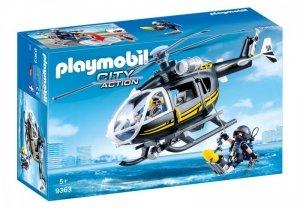 Playmobil Zestaw figurek Helikopter jednostki spejalnej