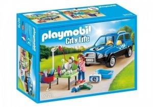 Playmobil Zestaw figurek Mobilny salon dla psów