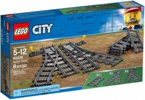 LEGO Klocki City Zwrotnice