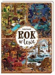 Nasza księgarnia Książeczka Rok w lesie