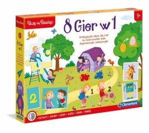 Zestaw gier Edukacyjny zestaw 8w1