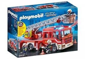 Playmobil Zestaw figurek Samochód strażacki z drabiną