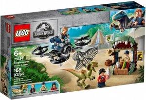 LEGO Klocki Jurassic World Dilofozaur na wolności
