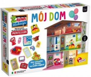 Lisciani Gra edukacyjna Montessori Maxi mój dom