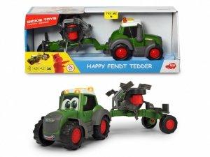 Traktor Happy Fendt i przetrząsacz, 30 cm