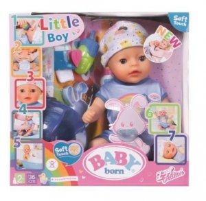 Lalka interaktywna BABY BORN Soft Touch Chłopiec 36 cm