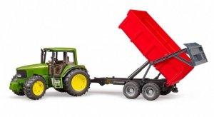 BRUDER Traktor John Deere 6920 z przyczepa wywrotką